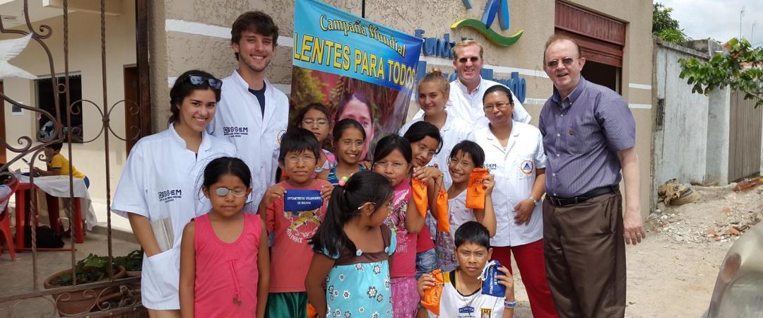 Participar en proyectos de voluntariado social en zonas rurales de Bolivia.