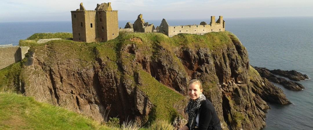 """""""Los voluntarios se alienta constantemente a recorrer el país y beneficiarse de lo que Escocia tiene para ofrecer."""""""
