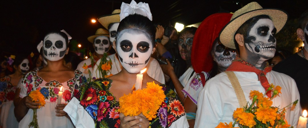 Celebrate Day of the Dead in Oaxaca, Mexico.