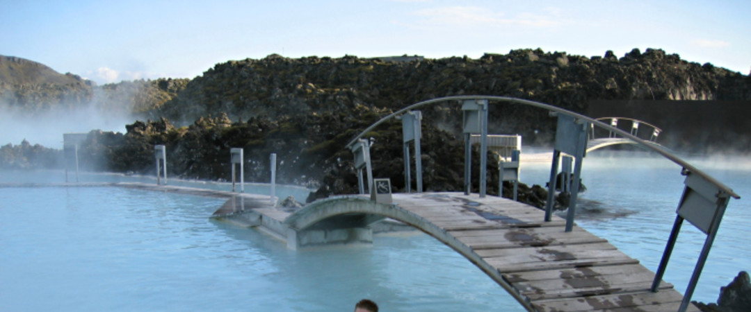 Set in the heart of the Icelandic landscape, the Blue Lagoon is a giant warm bath tub offering a unique mind-and-body experience.