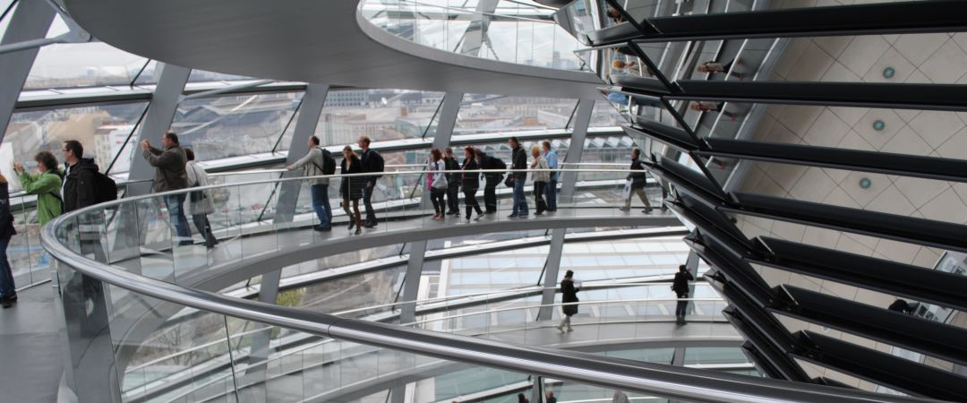Take a bus from our hostel and visit Reichstag, the home of the German parliament, and see Berlin's sights from above.