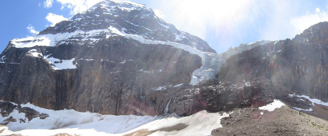Stay in the shadow of the mighty Mt. Edith Cavell and explore the nearby meadows and valleys.