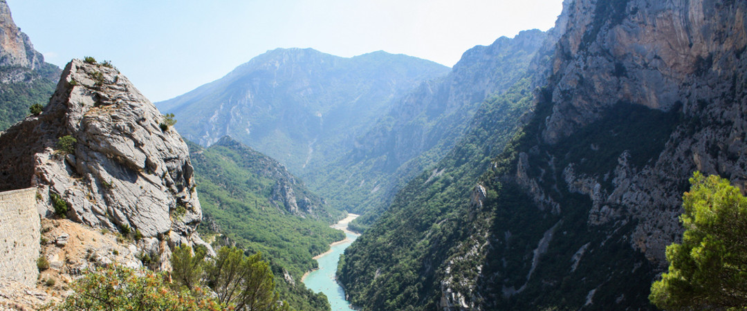 Often considered one of Europe's most beautiful, the Verdon Gorge is about 25km long and up to 700m deep. Great for hiking or kayaking.