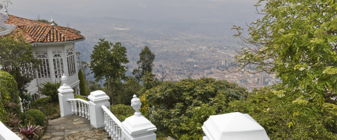 Take a cable car or climb up the stairs to Monserrate hill, and get breath-taking panoramic views of the city.