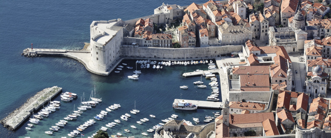 The Walls of Dubrovnik; built between the 14th and 17th century to protect the city; are a must-see when you visit Croatia.