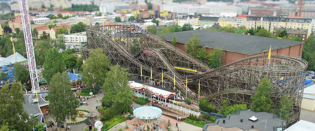 Fancy a day of thrills and fun? Linnanmäki Amusement Park is right by our hostel.