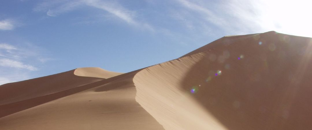 The Sahara Desert is the third largest and also the hottest desert in the world.