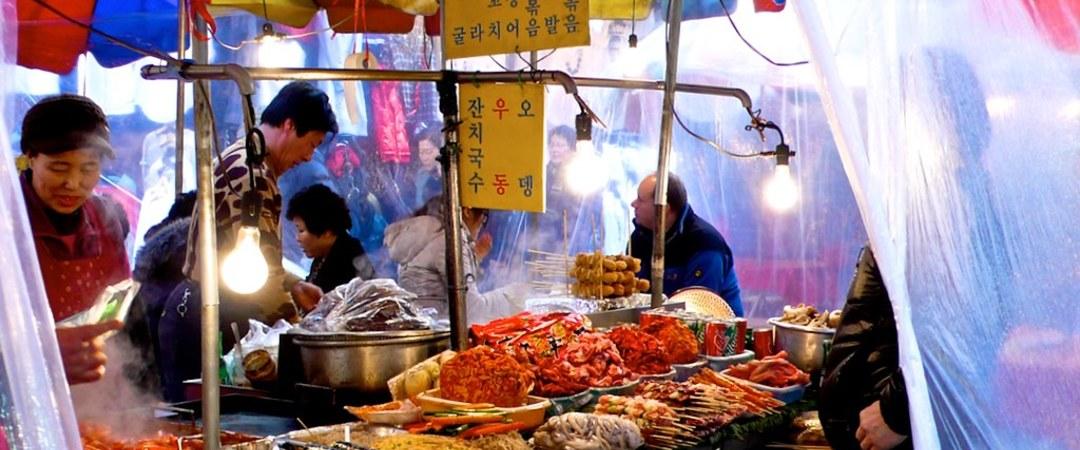 disfrutar de la amplia variedad de platos que Jeonju tiene para ofrecer - un popular destino para riquísimas comida coreana.