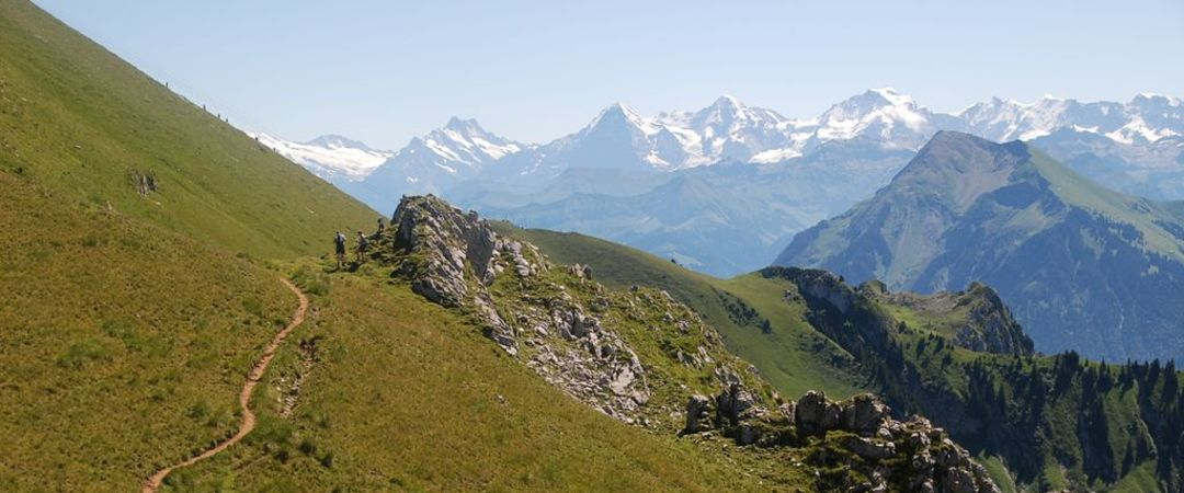 The mountains are calling - get your hiking boots on and scale Interlaken's mountainous scenery.