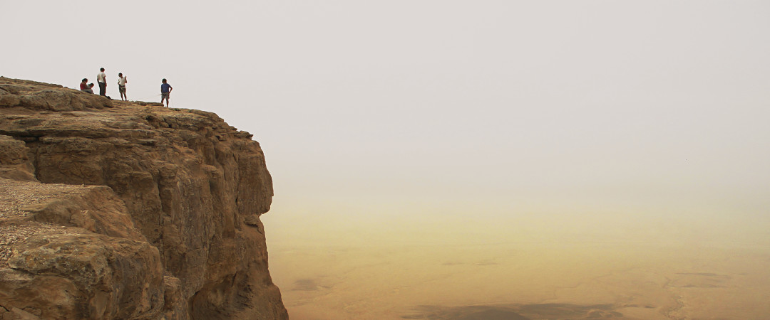 Be amazed by the incredible views over the Ramon crater in the Negev desert. For a desert activity with a difference, try abseiling it!