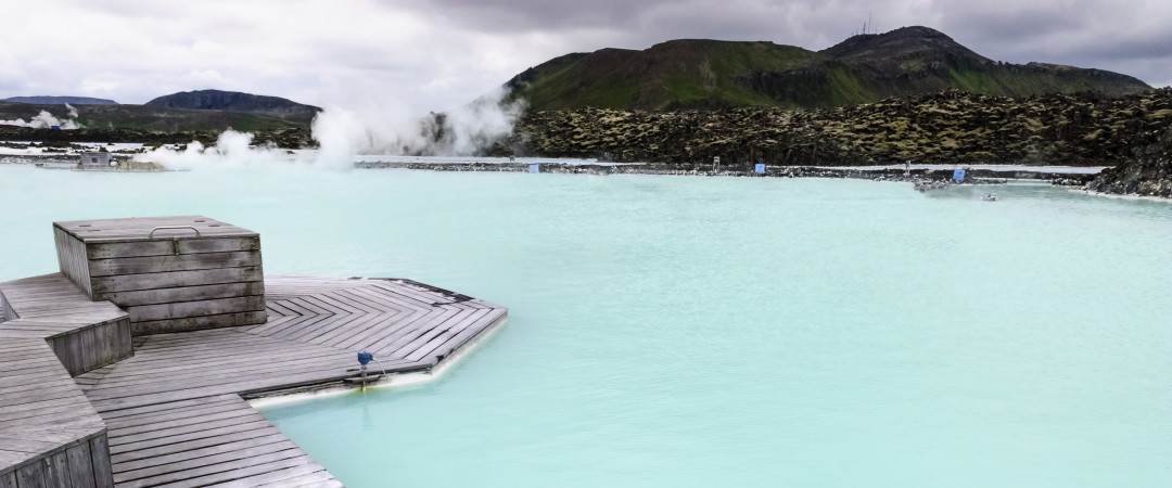 Slip into the Blue Lagoon - this indulgent geothermal spa averages a temperature of 37–39 °C and is rich in minerals.