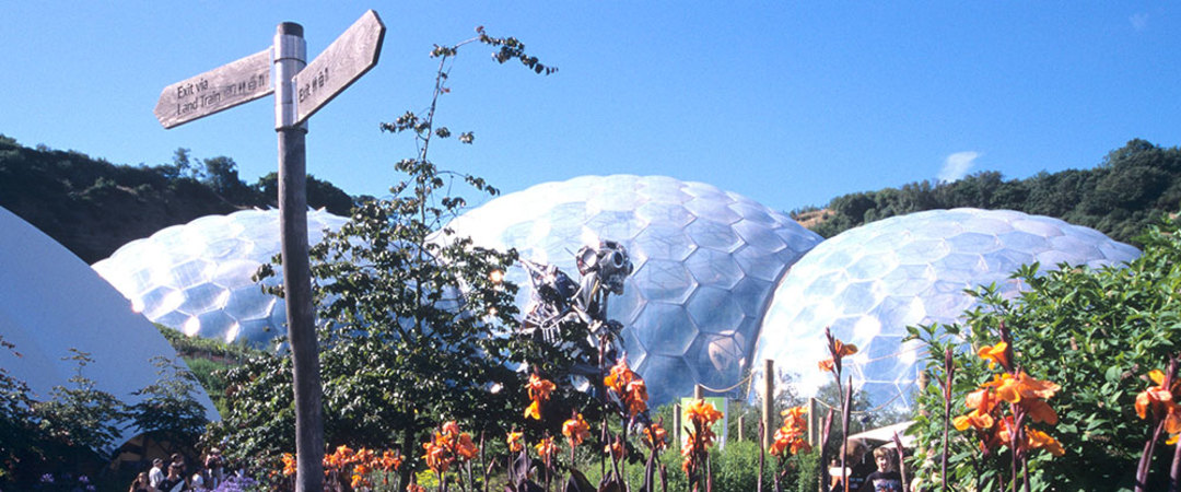 Stay in a snooze box within Cornwall's Eden Project