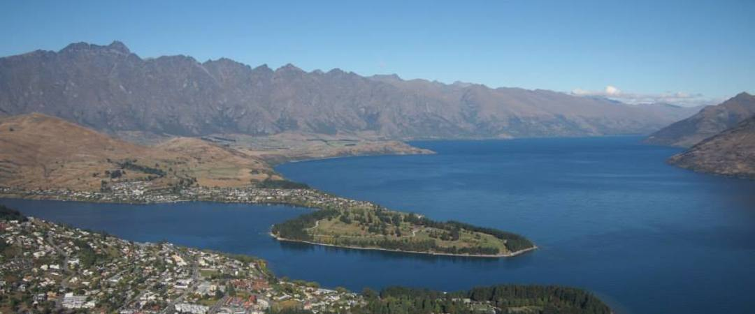 Catch a Skyline Gondola for a panoramic view of Queenstown & Lake Wakatipu
