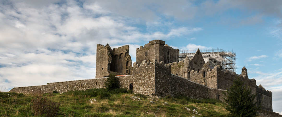 Visit Cashel, an architectural wonder known for the stunning 'Cashel Rock', located in County Tipperary.