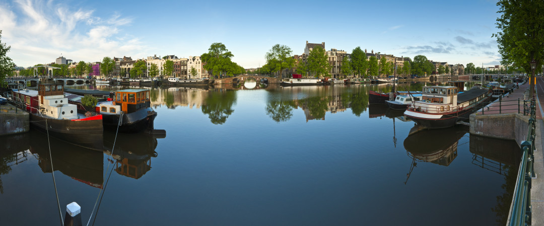 Use a water taxi to explore bustling Amsterdam from its canal network - see Anne Frank's house and the infamous Red Light district.