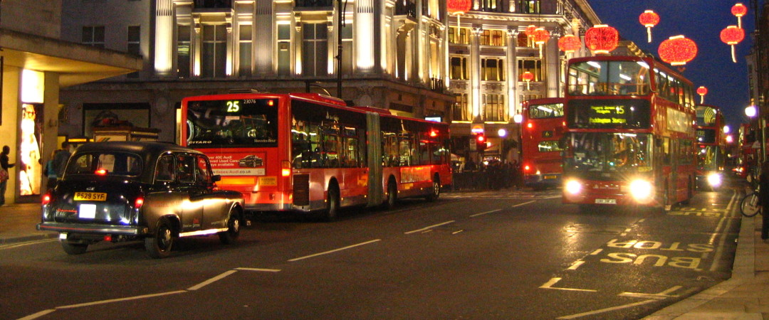 Catch an iconic red double-decker bus and shop 'till you drop on one of London's busiest shopping destinations, Oxford Street.