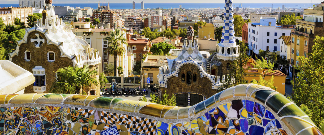 See the astounding Park Guell for yourself, designed by the famous architect and visionary Antonio Gaudi.