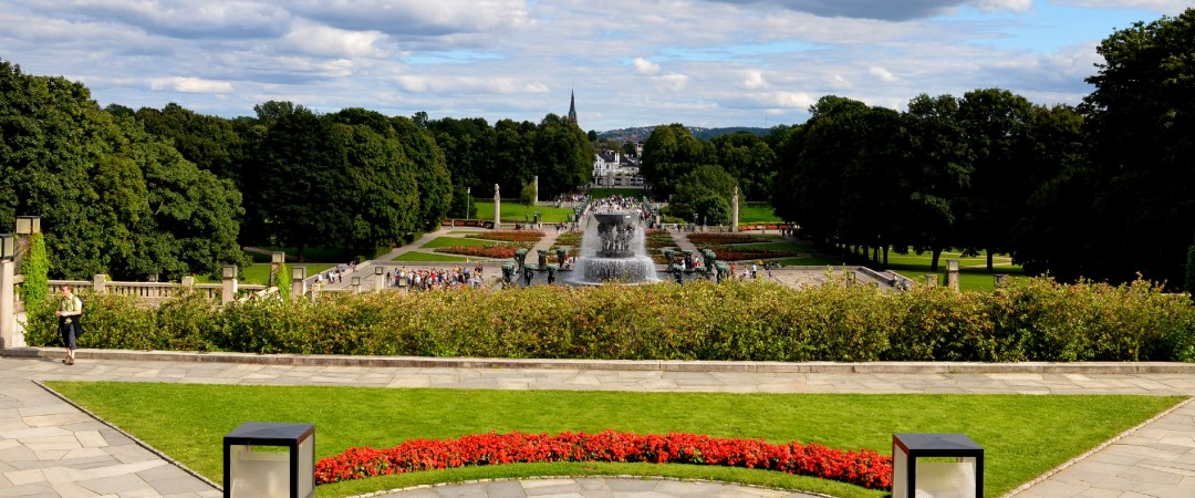 Check out the amazing Vigeland Park, the world's largest sculpture park made by a single artist.