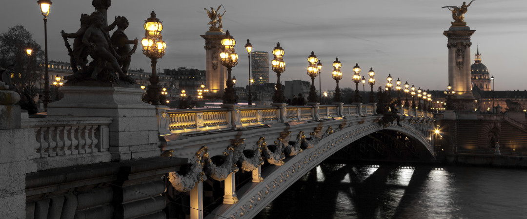 Walk along the Seine at night admiring the interesting sights of Paris before heading to a restaurant to sample the famous French cuisine.