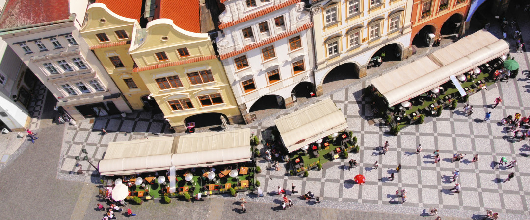 Take a walk through the bohemian Old Town Square and sample a quality beer at one of its outdoor gardens.