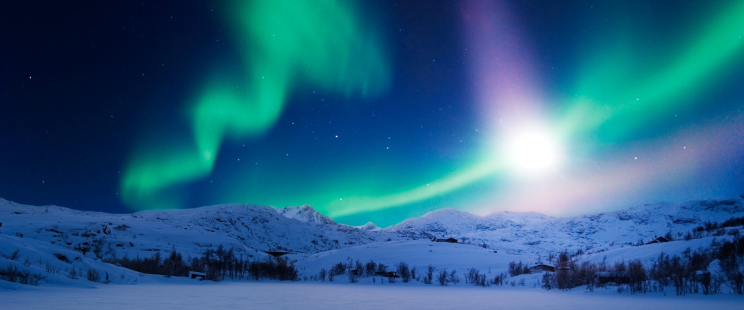 Experience a magical moment and see the spectacular natural phenomenon, the Aurora Borealis from your bedroom window.