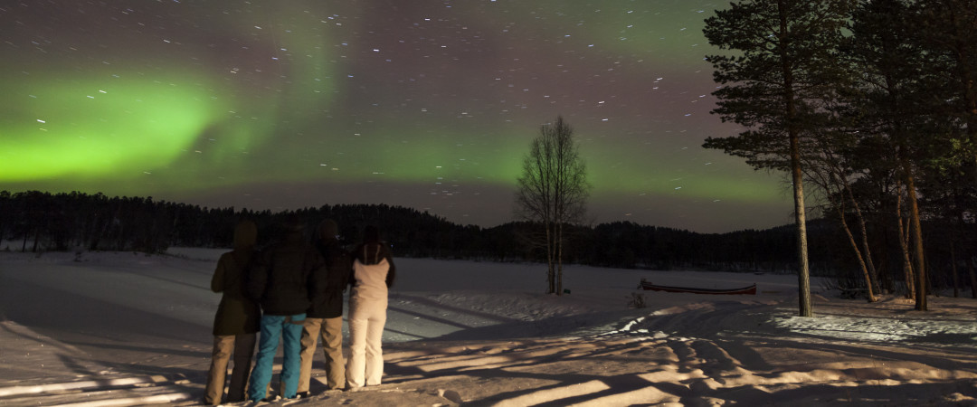 Stay in a truly magical part of the world, meet Santa and Rudolph and if you're lucky you could even see the mystical Northern Lights.