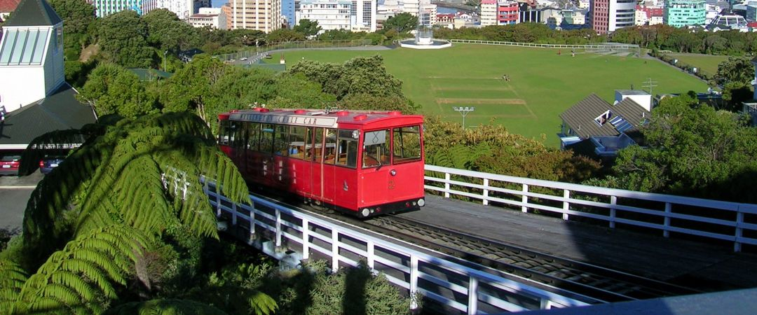Ride the famous red Wellington Cable Car to all the best stops in New Zealand's bustling capital.