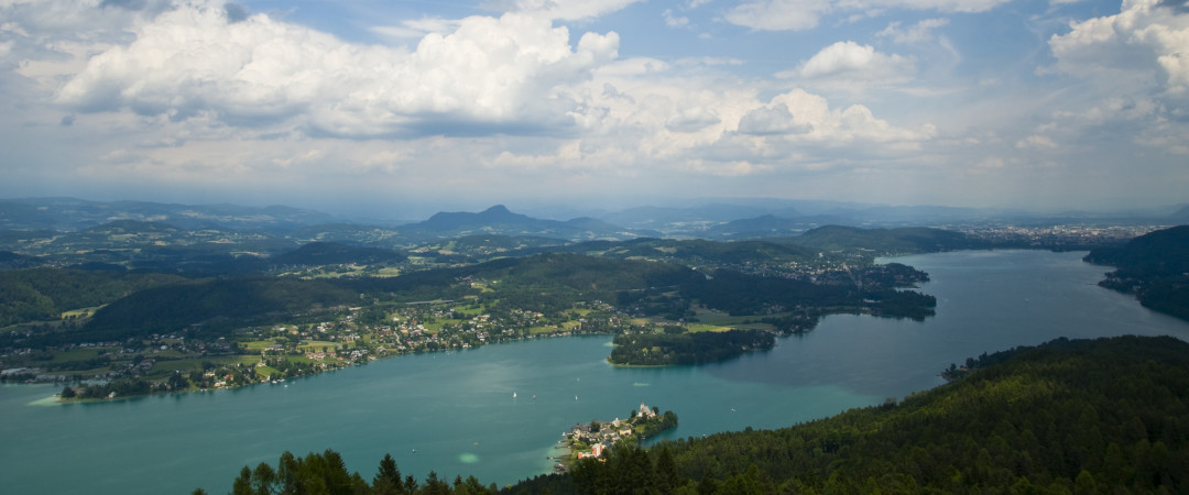 Klagenfurt is ideally located near Lake Wörthersee, one of Europe's largest and warmest Alpine lakes.