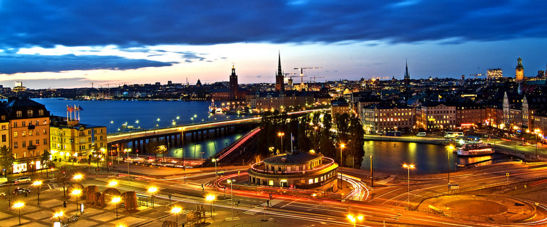 Take a stroll through Stockholm and see colourful architecture beaming at you as unique as the charm of this city.