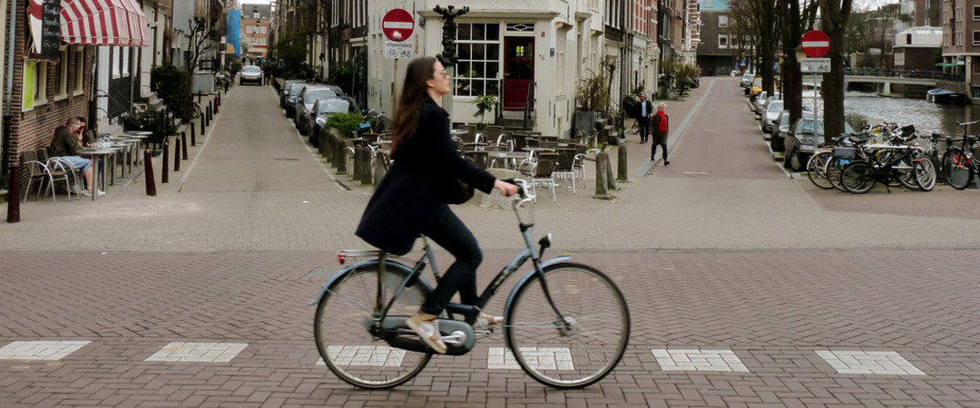 Cycling is a way of life in the Netherlands.