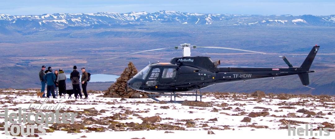 Helicopter tour from Reykjavík