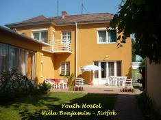 Youth Hostel Villa Benjamin Siófok