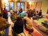 Yosemite Rustic Mountain Resort hostel in the USA yoga activity