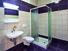 Bathroom in Slovenj Gradec Hostel, Slovenia