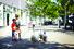 Children near the Frederikshavn City Hostel in Denmark