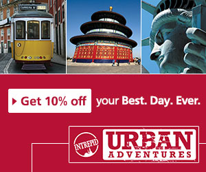 Urban Adventures advert