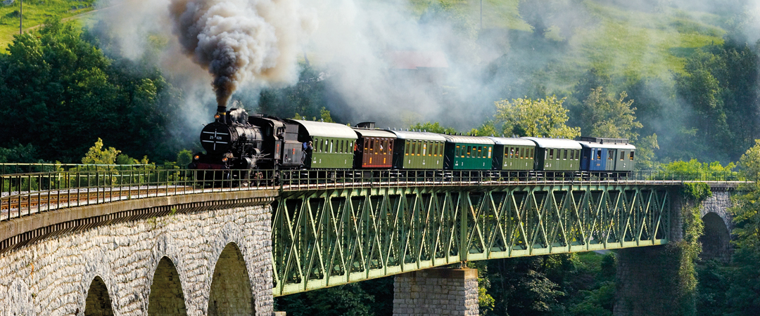 Take a ride through history in a train that drove our ancestors over 100 years ago. HI member card gives you a 10% discount.