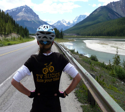 Cycling Jasper National Park