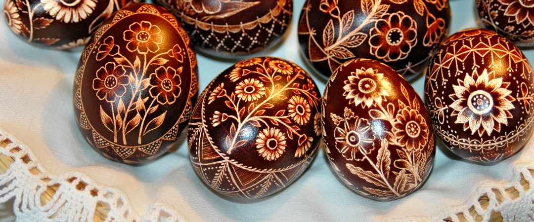 The ornamental colored eggs or »pisanice« are a cultural tradition and unique heritage of Bela Krajina.
