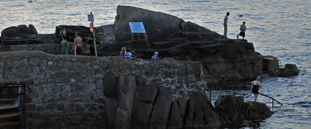 Where do the locals go for a dip in the sea? The Forty Foot is the place to be in the summer