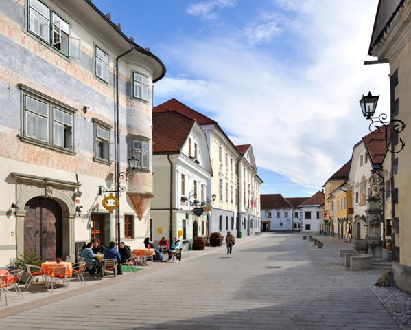 The medieval town Radovljica