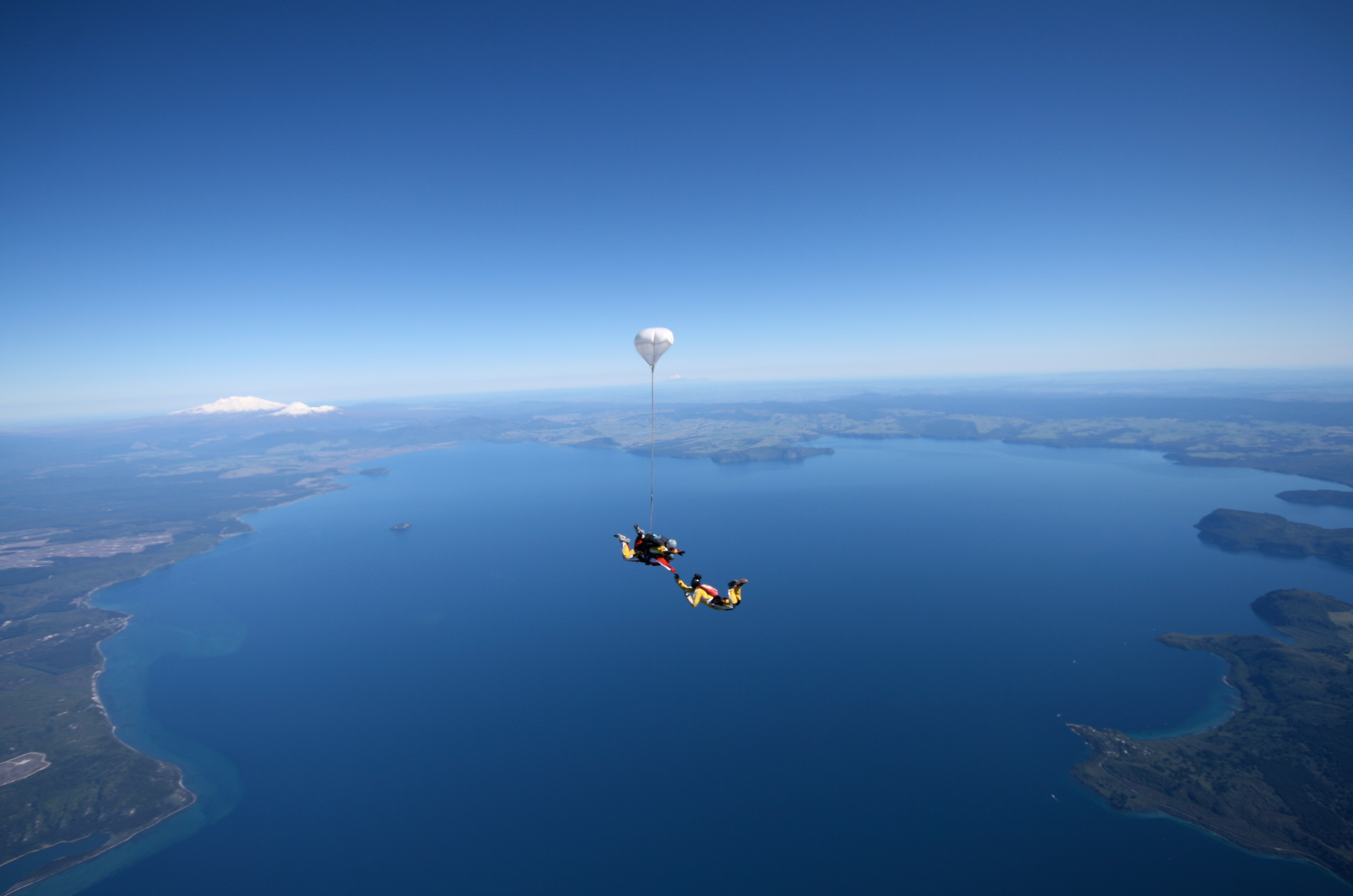 Taupo Tandem Skydiving over Lake Taupo