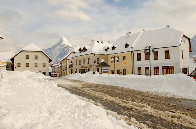 Winter time in Bovec