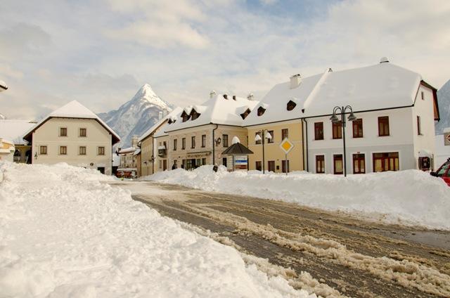 Winter time in Bovec