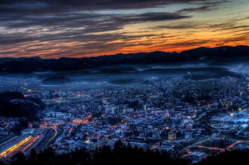 Slovenj Gradec peace messenger city