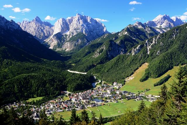 Tourist destination Kranjska Gora