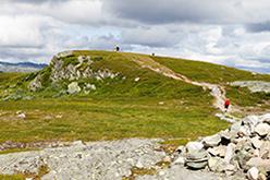 The last ascent to Falkeriset