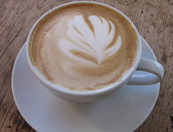 Kaffibaren's cappuccino