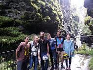 Bicycle trip with social volunteers