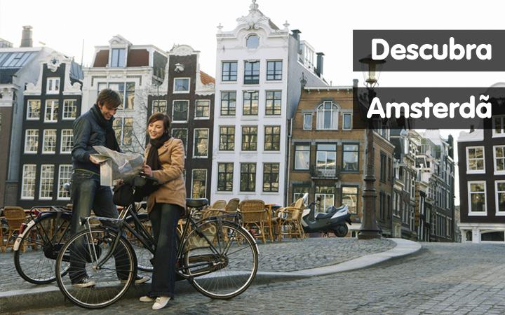 Descubra Amsterdã